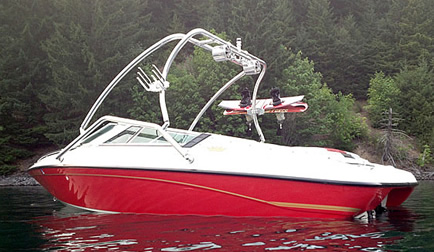 1993 Crownline 19.5' with Airborne Wakeboard Tower