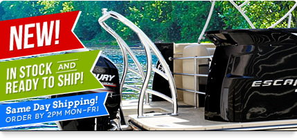 Ski tow bar for pontoon boats