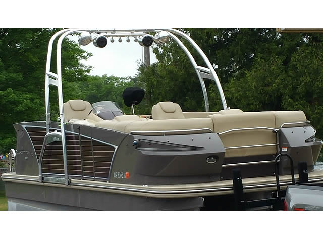 Wakeboard tower for 2014 Larson Escape  pontoon boat