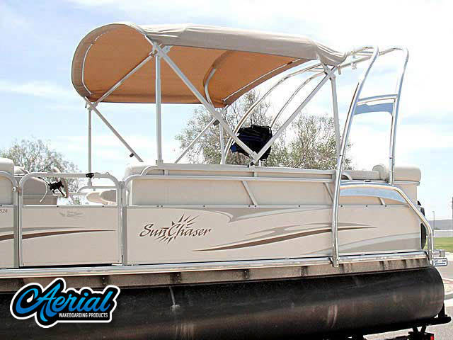 Wakeboard tower for 2006 Sunchaser 8524CR, 90EFI Mercury 4stroke pontoon boat
