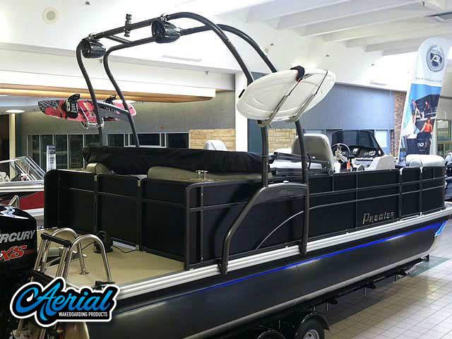 Wakeboard tower for 2014 Premier 220 Sunsation  pontoon boat