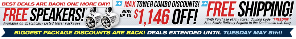 wakeboard tower sale