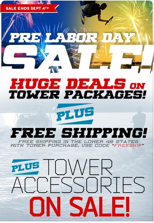 2015 Summer Wakeboard Tower Sale