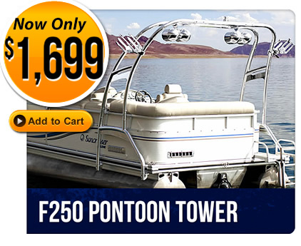 Buy wakeboard tower for pontoon boats