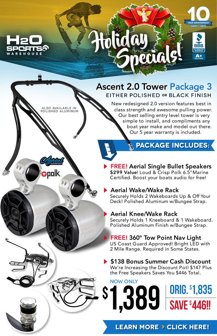 Aerial Ascent Wakeboard Package Special
