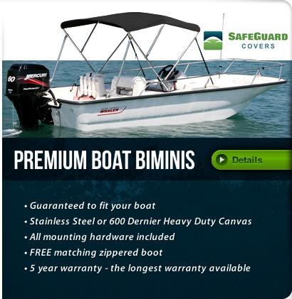 Folding Boat Bimini