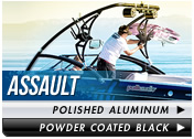 Aerial Assault Wakeboard Tower fits 76 inch to 108 inch beam widths