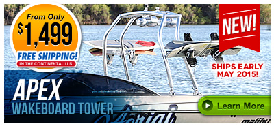 Apex Wakeboard Tower New for 2015!