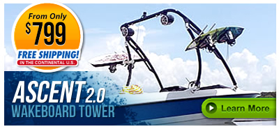 Ascent Wakeboarding Towers