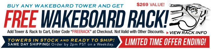 Free wakeboard racks