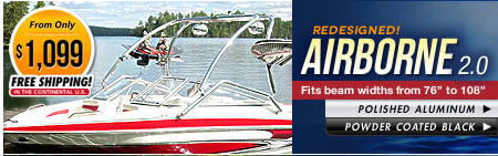 Airborne 2.0 Wake Tower for Boats