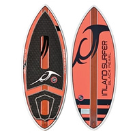 4 Skim Black Pearl Wakesurf Board by Inland Surfer