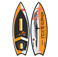 Swallow V2 Wakesurf Board by Inland Surfer