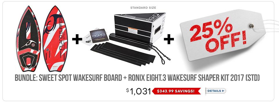Wakesurf Board Bundle 5