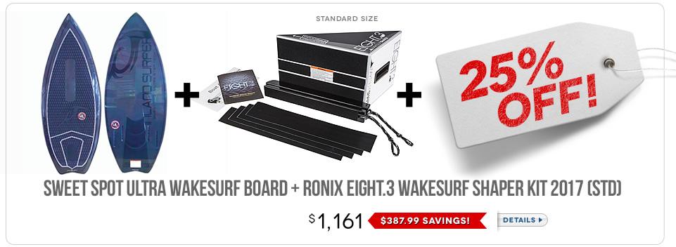 Wakesurf Board Bundle 6