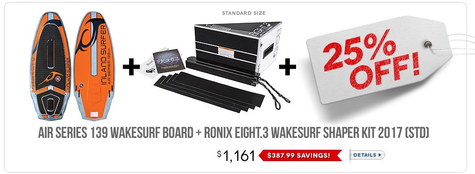 Wakesurf Board Bundle 7