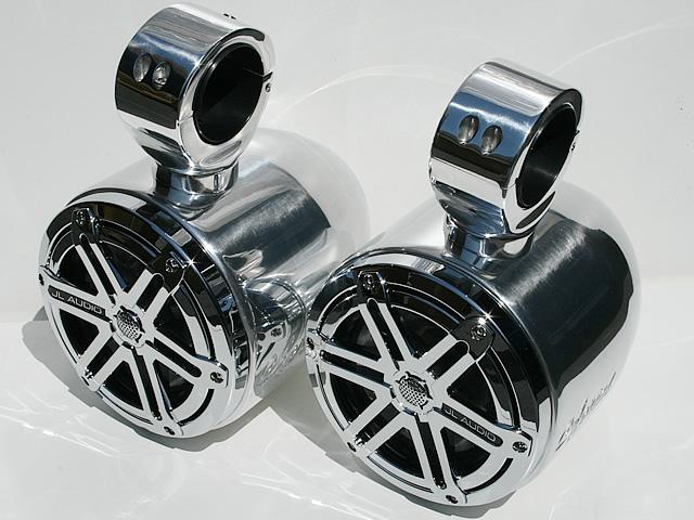 Wakeboard tower speakers