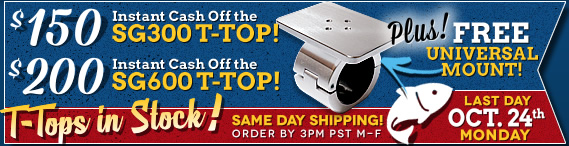 t-tops for center console boats