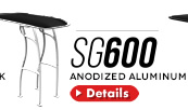 SG600 Folding Boat TTop Anodized Aluminum