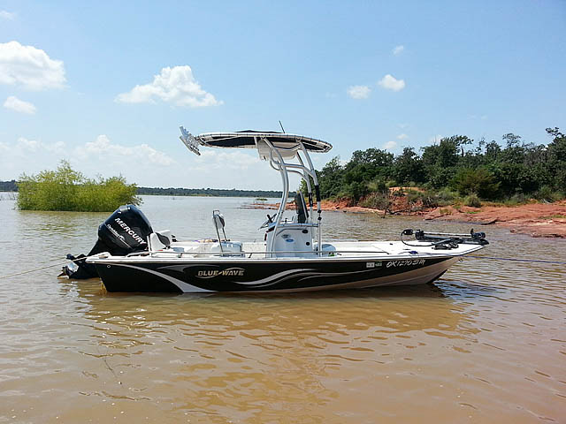 t top for 2008 Blue Wave 190 Deluxe center console boat