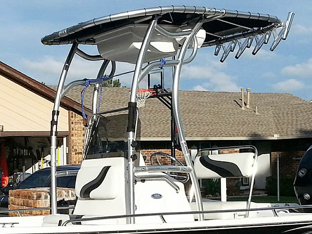 T top for 2008 Blue Wave 190 Deluxe boats 102808-11