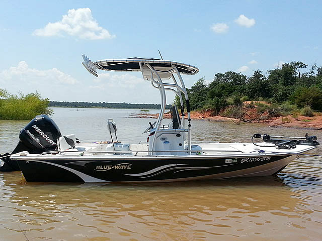 T top for 2008 Blue Wave 190 Deluxe boats 102808-2