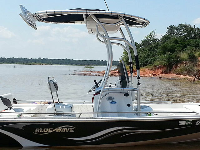 T top for 2008 Blue Wave 190 Deluxe boats 102808-3
