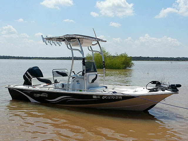 T top for 2008 Blue Wave 190 Deluxe boats 102808-8