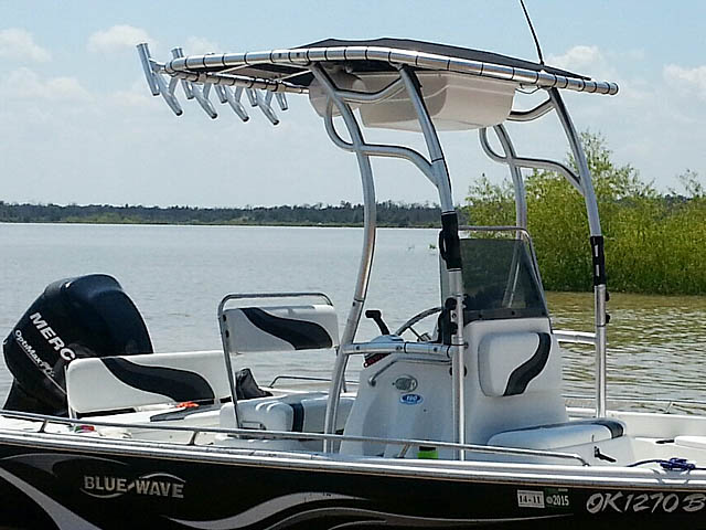 T top for 2008 Blue Wave 190 Deluxe boats 102808-9