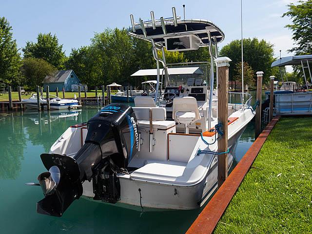 t top for 1988 Sea Ray Laguna CC center console boat