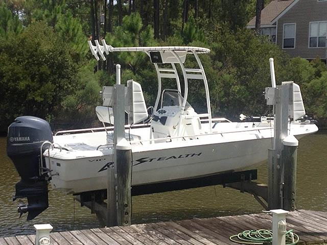 T top for 2005 Bay Stealth VIP 2030 boats 121092-2