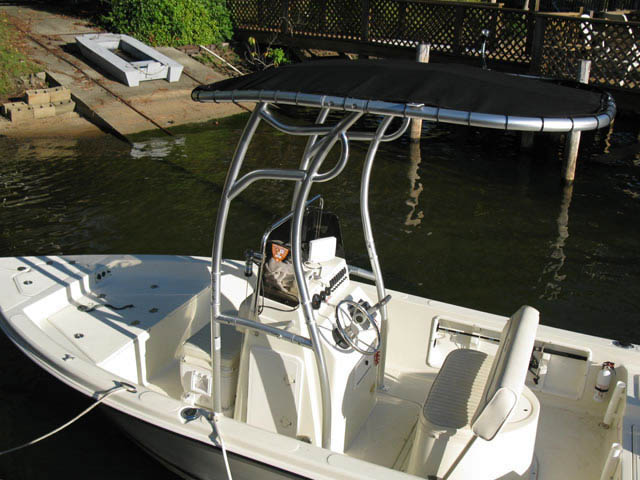 t top for 2007 Glassmaster 180cc center console boat