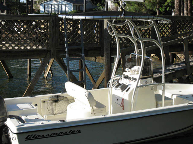 T top for 2007 Glassmaster 180cc boats 12370-3