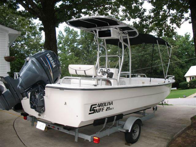 T top for Carolina Skiff boats 12376-2