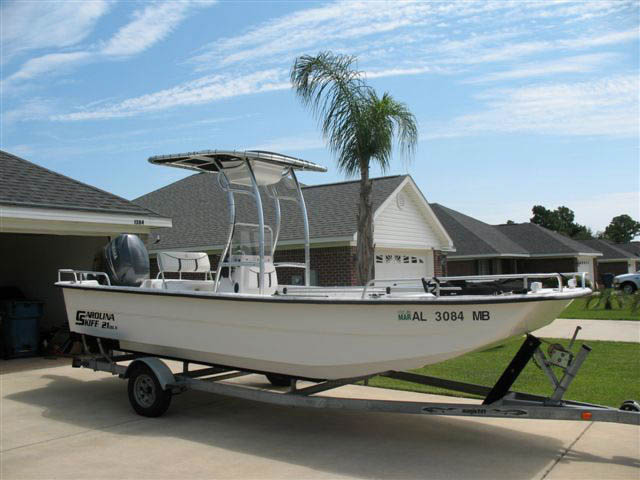 T top for Carolina Skiff boats 12376-3