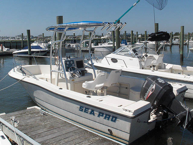 T top for Sea Pro boats 12379-1