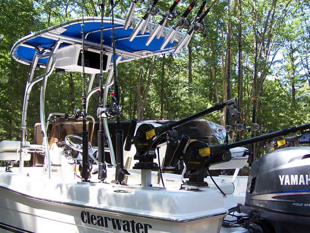 T top for Clearwater boats 12380-3