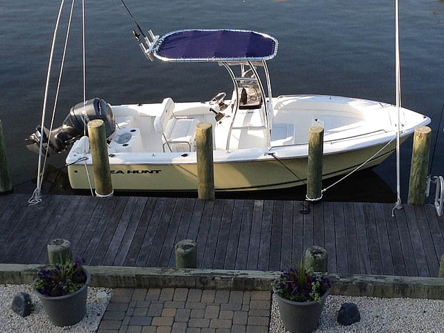 t top for 2014 Sea Hunt 202 center console boat