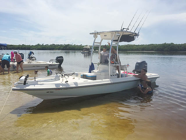 T top for 2008 Shearwater 20' Tournament Edition boats 149100-6