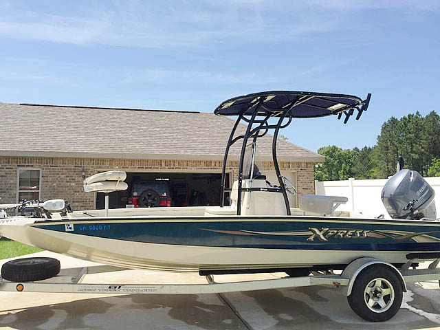 T top for 2012 xpress H20 20' boats 152338-12