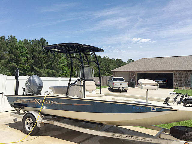 T top for 2012 xpress H20 20' boats 152338-14