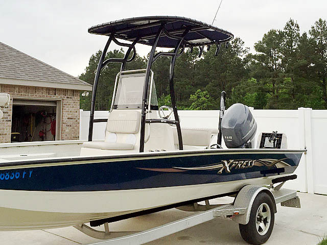 T top for 2012 xpress H20 20' boats 152338-3