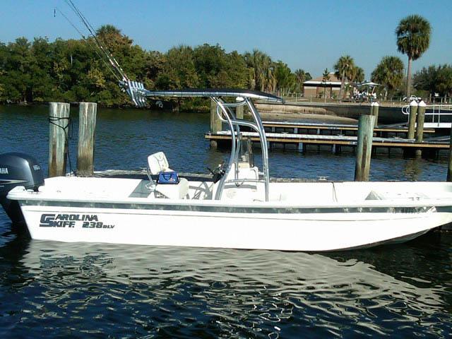 t top for 2009 Carolina Skiff 238DLV center console boat