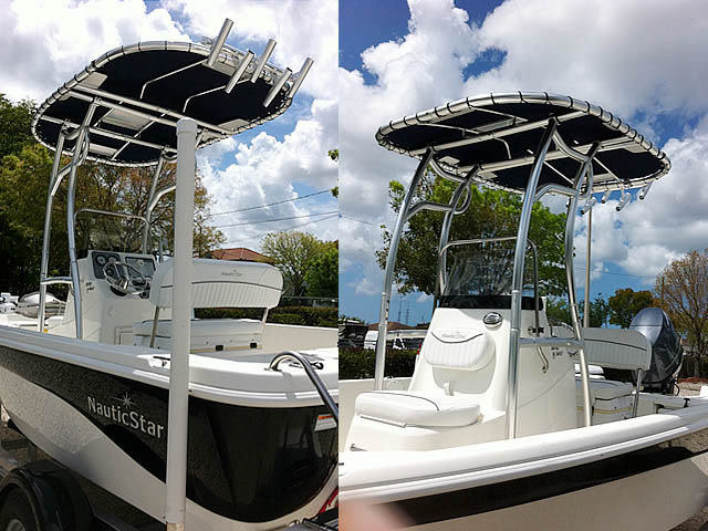 t top for 2014 NauticStar 1810 Bay center console boat