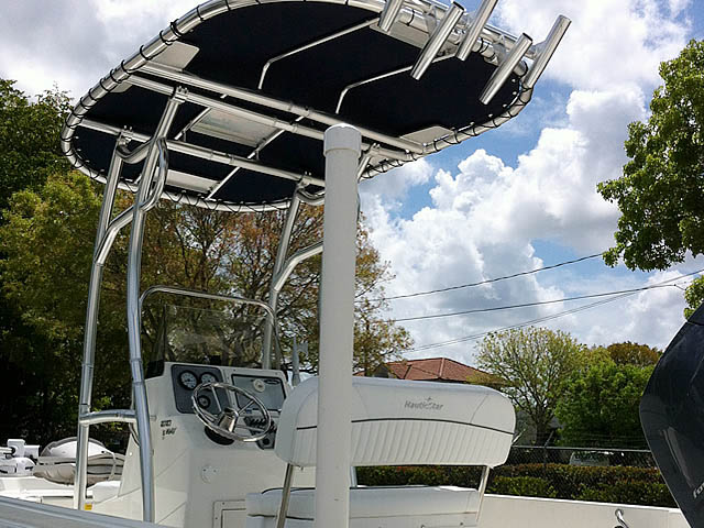 T top for 2014 NauticStar 1810 Bay boats 152706-4