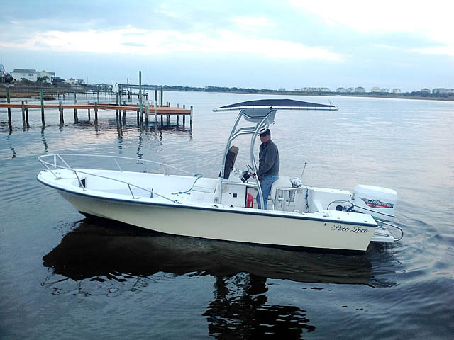t top for 2000 Offshore 19 ft center console boat