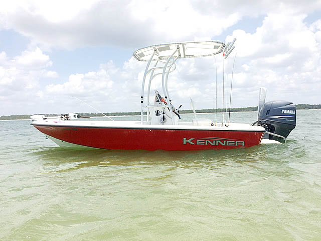 t top for 2007 Kenner 180 center console boat