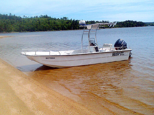 t top for 2004 Carolina Skiff 21 DLX center console boat