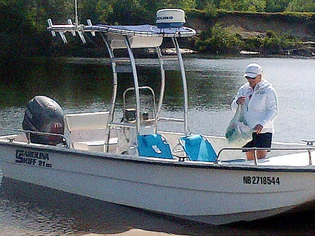 T top for 2004 Carolina Skiff 21 DLX boats 156492-6