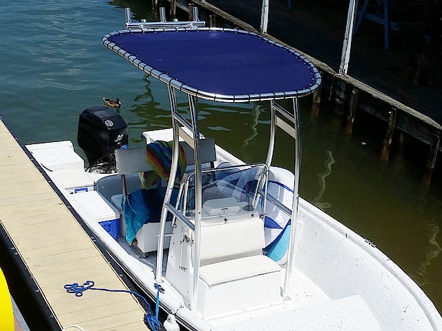 T top for 1985 Cobia  boats 158491-7